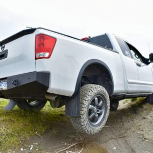 2004-2015 Nissan Titan Low Profile Rear Bumper Kit
