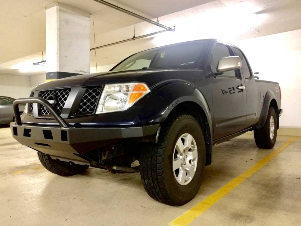 Nissan Frontier Bumper >> 2nd Gen Frontier High Clearance Front Bumper Kit