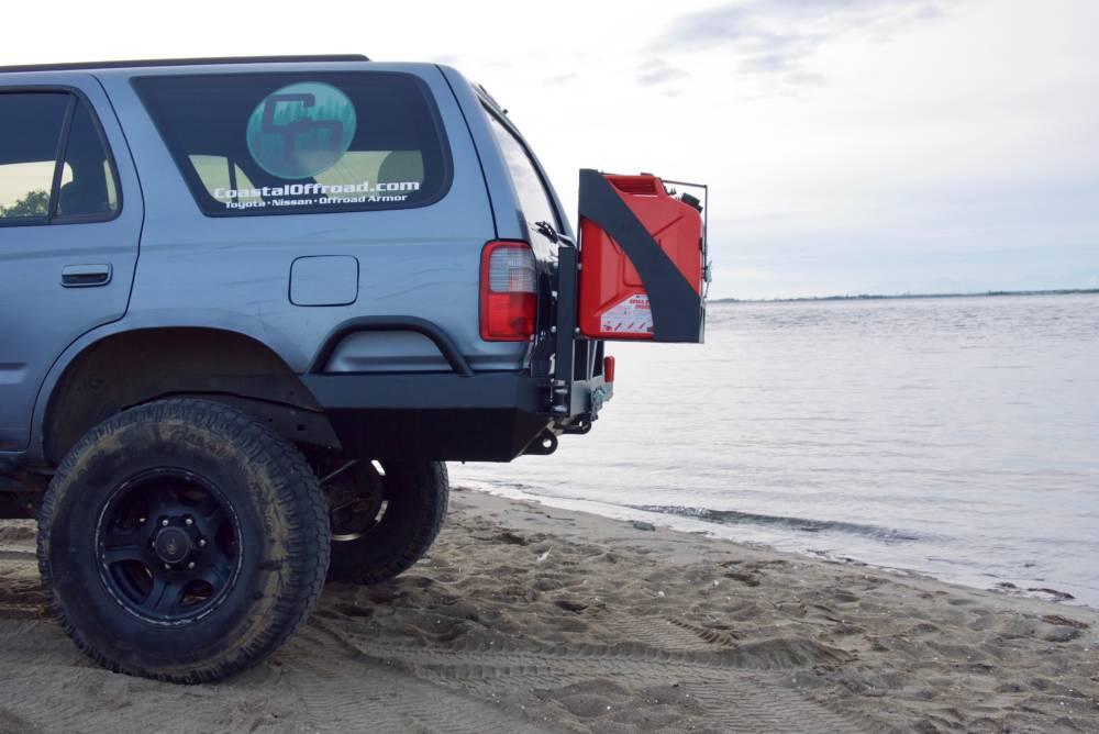 3rd gen 4runner high clearance rear bumper kit coastal offroad usd