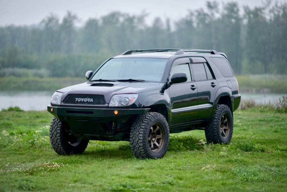 Toyota 4runner Bumper >> 4th Gen 4runner High Clearance Front Bumper Kit Coastal Offroad