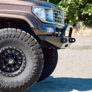 80-Series/LX450 High Clearance Rear Bumper Kit - Coastal Offroad