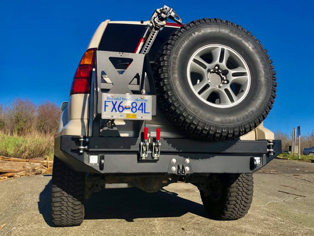Gx Low Profile Rear Bumper Kit