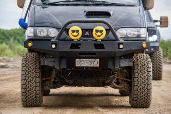 front bumper kit delica L400 S2