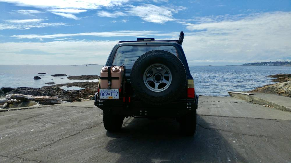 80-Series/LX450 High Clearance Rear Bumper Kit