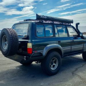 100-Series/LX470 High Clearance Rear Bumper Kit - Coastal Offroad