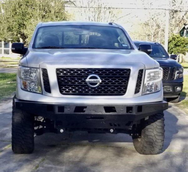 2016-2019 Nissan Titan XD Front Bumper Kit