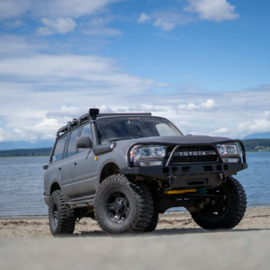 80 Series Land Cruiser High Clearance Front Bumper Kit