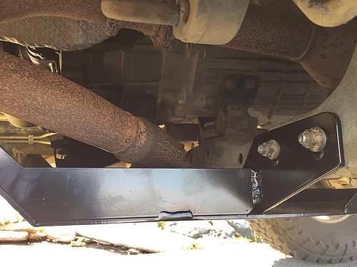 1986-1995 4Runner/Pickup 4 Cyl Skid Plate Kit