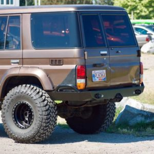 70 Series Land Cruiser High Clearance Rear Bumper Kit