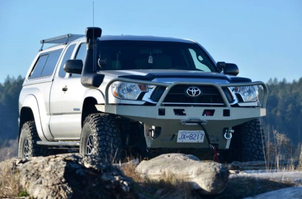2nd Gen Tacoma High Clearance Plate Bumper Kit