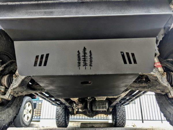 3rd Gen 4Runner Drivetrain Skid Plate Kit