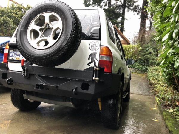 2nd Gen Suzuki Vitara Low Profile Rear Bumper Kit