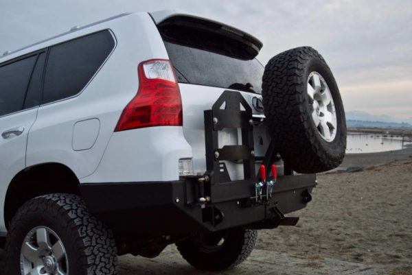 GX460 Low Profile Rear Bumper Kit
