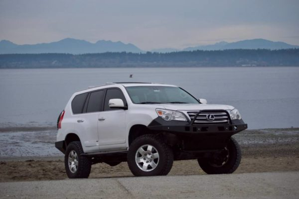 Lexus GX460 High Clearance Front Bumper Kit