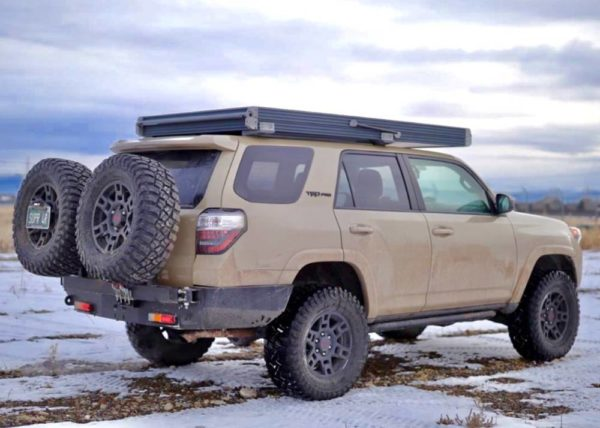 5th Gen 4Runner Low Profile Rear Plate Bumper Kit