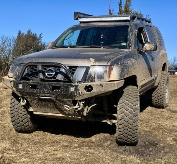 2nd Gen Xterra High Clearance Plate Bumper Kit