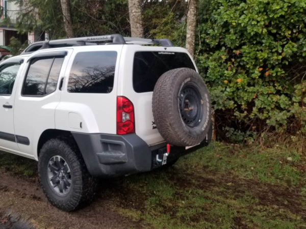2nd Gen Nissan Xterra Rear Bumper Kit