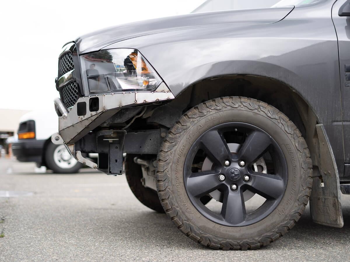 4th Gen Dodge Ram 1500 Front Bumper Kit Coastal Offroad
