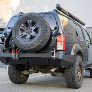 R51 Nissan Pathfinder High Clearance Rear Bumper Kit 01