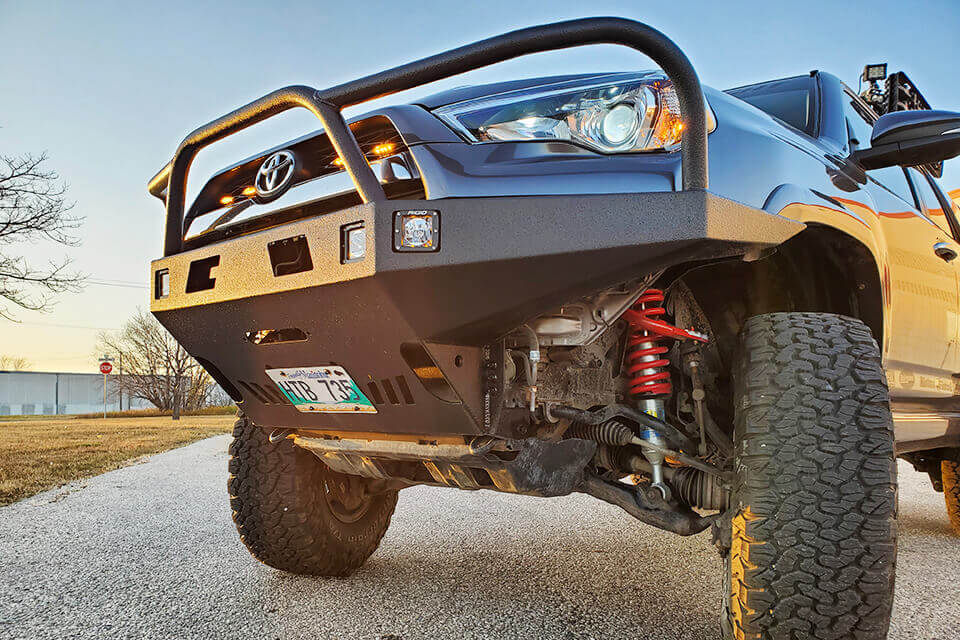 What Are the Differences Between Weld-together Bumper Kits, Pre-fabricated or Homemade Armor?