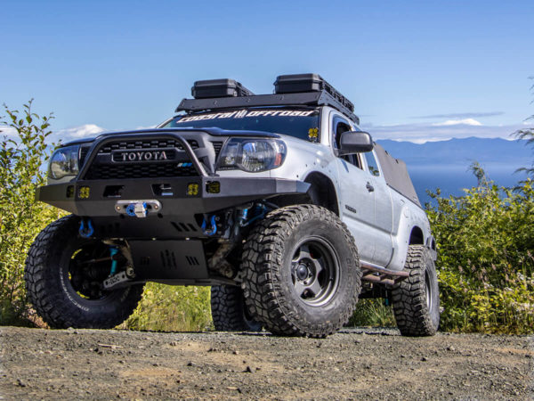 2nd Gen Tacoma Extreme Clearance Skid Plate Weld-Together Kit