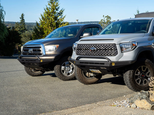 2nd Gen Tundra and Sequoia High Clearance Front Bumper Kit